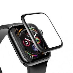 Heltäckande Skärmskydd 44mm för Apple Watch 4 - Svart
