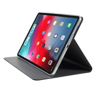 Tygmönster Tablet Fodral till iPad Pro 12.9 (2018) - Svart