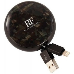 Richmond & Finch Cable Winder Iphone & Ipad - Camouflage