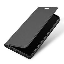 SiGN Skin Pro Plånboksfodral till Samsung Galaxy S9 Plus - Mörkgrå
