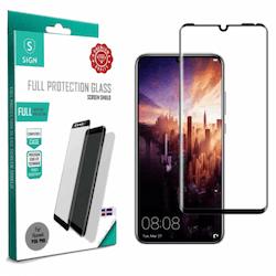SiGN 3D Skärmskydd i Härdat Glas för Huawei P30 Pro