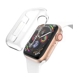 Skal 360 Slim För Apple Watch 1/2/3 38MM - TRANSPARENT