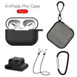 5 in 1 För Apple AirPods Pro - Svart