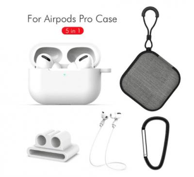 5 in 1 För Apple AirPods Pro - Vit