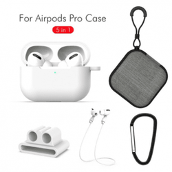 5 in 1 För Apple AirPods Pro - Vit
