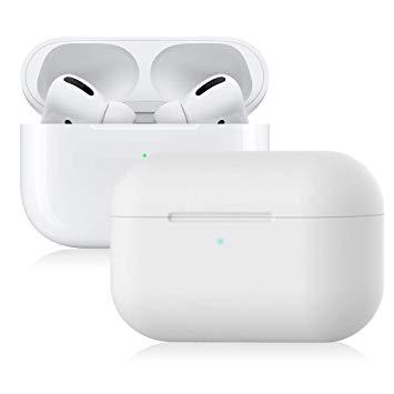 Ultra-slim Silikonfodral till Laddningsetui för Apple AirPods Pro - Vit