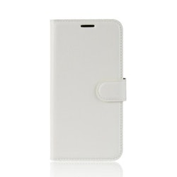 Litchi Plånboksfodral till iPhone 11 - Vit