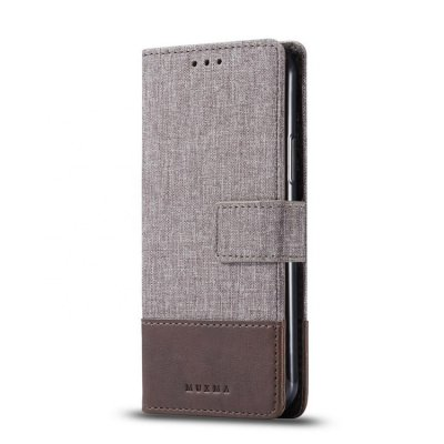 Muxma Plånboksfodral Till Samsung Galaxy Note 10 Plus - Brun