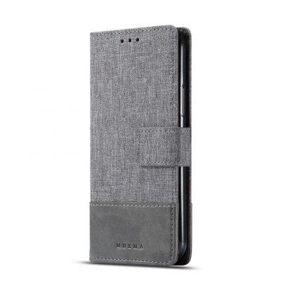 Muxma Plånboksfodral Till Samsung Galaxy Note 10 Plus - Grå
