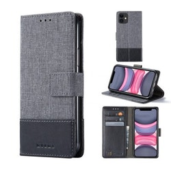 Muxma Plånboksfodral Till iPhone 11 - Svart