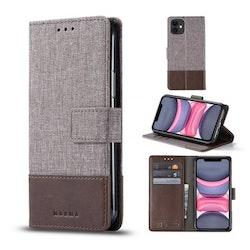 Muxma Plånboksfodral Till iPhone 11 - Brun