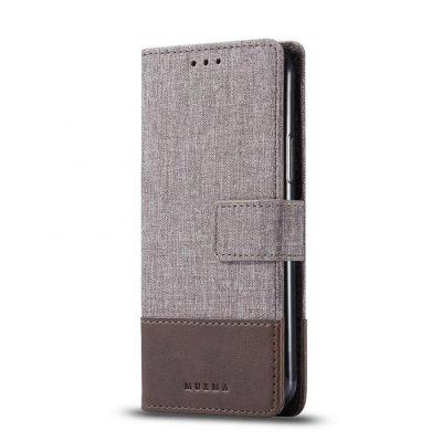 Muxma Plånboksfodral Till Huawei P30 Pro - Brun