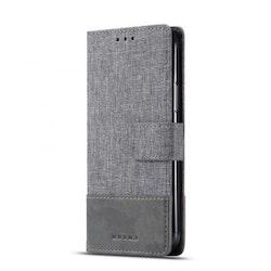 Muxma Plånboksfodral Till Huawei P30 Lite - Grå