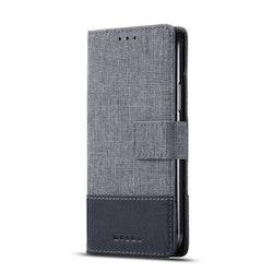 Muxma Plånboksfodral Till Huawei P30 Lite - Svart