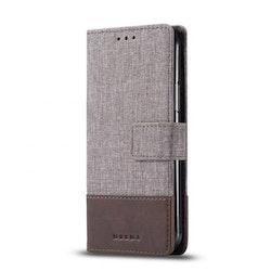 Muxma Plånboksfodral Till Huawei P30 Lite - Brun
