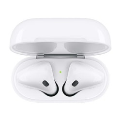 Apple AirPods(2nd gen) med Trådlöst Laddningsetui - Vit