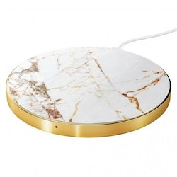 IDEAL FASHION QI CHARGER - CARRARA GOLD MARBLE