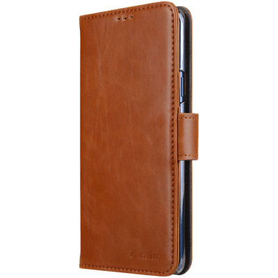 MELKCO WALLETCASE TILL SAMSUNG GALAXY S9 PLUS - BRUN