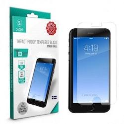 SiGN Skärmskydd i Härdat Glas för iPhone 6/6S/7/8 Plus