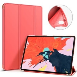 Tri-fold Fodral för iPad Pro 11 2018 - Röd
