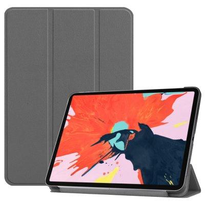 Tri-Fold Tablet Fodral till iPad Pro 12.9 (2018) - Grå