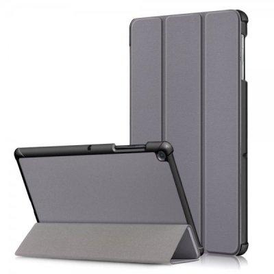 Samsung Galaxy Tab S5E T720 T725 Vikbart Smart Fodral Stativ - Grå