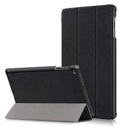 Samsung Galaxy Tab A 10.1 2019 T510 T515 Vikbart Smart Fodral Stativ - Svart
