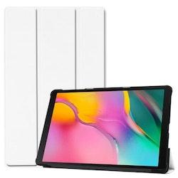Samsung Galaxy Tab A 10.1 2019 T510 T515 Vikbart Smart Fodral Stativ - Vit