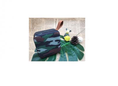 T5 Cloth Art Portable Wireless Bluetooth Högtalare - Camouflage