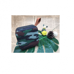 T5 Cloth Art Portable Wireless Bluetooth Högtalare - Camouflage