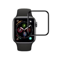 AICOO Heltäckande Skärmskydd 42mm för Apple Watch Series 3/2/1 - Svart