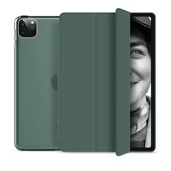 """Tri-fold Fodral med Stativfunktion för iPad Pro 11"""" 2020 - Grön"""