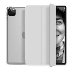 """Tri-fold Fodral med Stativfunktion för iPad Pro 12,9"""" 2020 - Grå"""