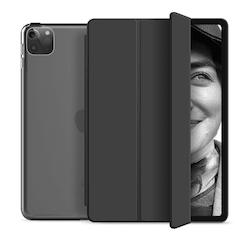 """Tri-fold Fodral med Stativfunktion för iPad Pro 12,9"""" 2020 - Svart"""