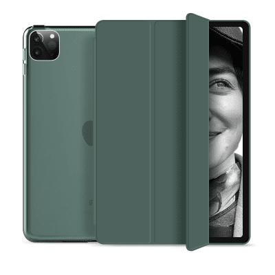 """Tri-fold Fodral med Stativfunktion för iPad Pro 12,9"""" 2020 - Grön"""