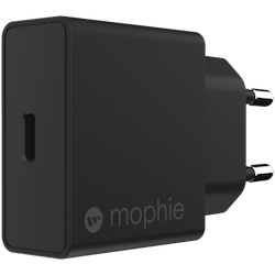 MOPHIE WALL ADAPTER USB-C 18W - SVART