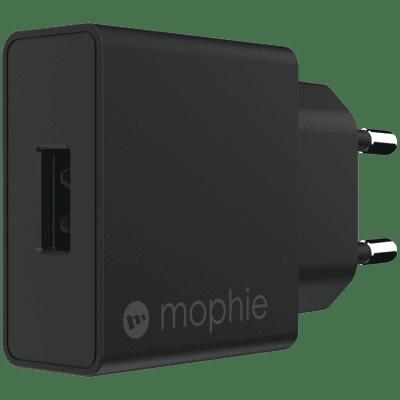 MOPHIE WALL ADAPTER USB-A 18W - SVART