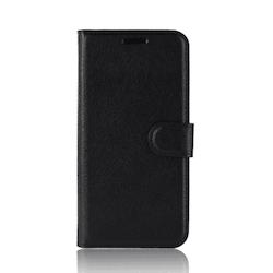 Crazy Horse Fodral till Samsung Galaxy A51 - Svart