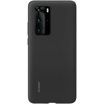 Huawei Silicone Case för Huawei P40 Pro - Svart