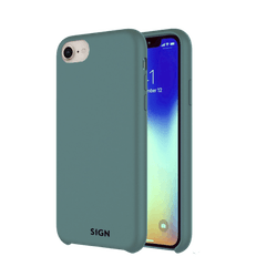 SiGN Liquid Silicone Case för iPhone 7 & 8/SE 2 - Mint