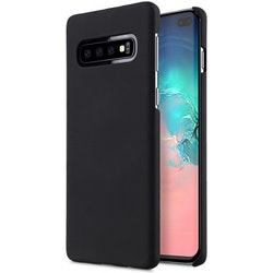 Melkco Rubberized Cover Samsung Galaxy S10 Plus - Svart