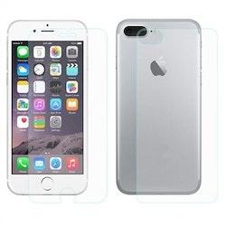 Skärmskydd härdat glas iPhone 7/8 Plus - Fram & baksida