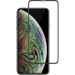 Skärmskydd Heltäckande Full Fit för iPhone X/XS/11 Pro - Svart
