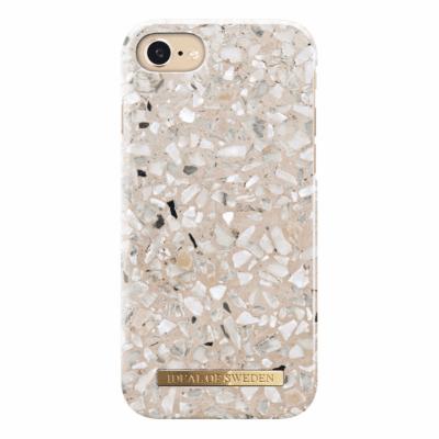 IDeal Fashion Case för iPhone 6/6S/7/8/SE 2 - Greige Terazzo