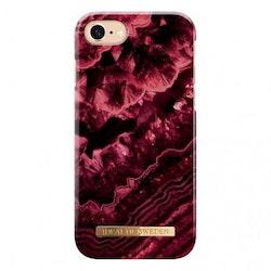 IDeal Fashion Skal för iPhone 6-6S-7-8-SE 2 - Claret Agate