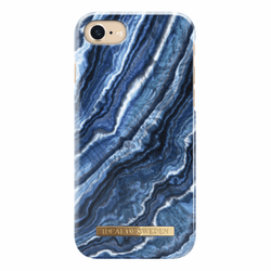 IDeal Fashion Case för iPhone 6-6S-7-8-SE 2 - Indigo Swirl