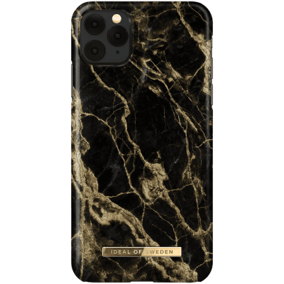 IDEAL FASHION CASE IPHONE XS MAX/11 PRO MAX GOLDEN SMOKE MARBLE