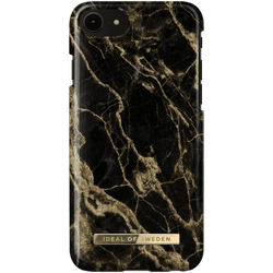 IDEAL FASHION CASE IPHONE 6/6S/7/8/SE 2 GOLDEN SMOKE MARBLE