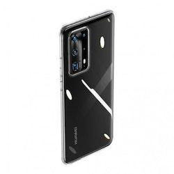 Baseus Simple Skal för Huawei P40 Pro - Transparent