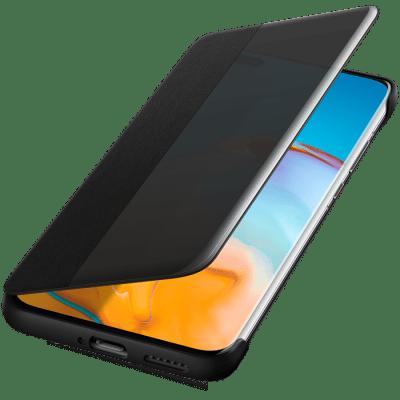 Huawei Smart View Cover för Huawei P40 Pro - Svart